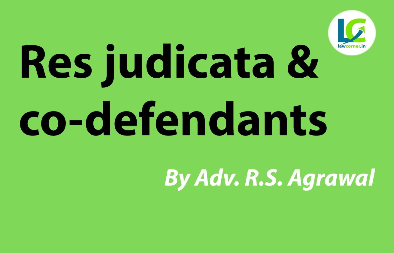 Res Judicata and co-defendants