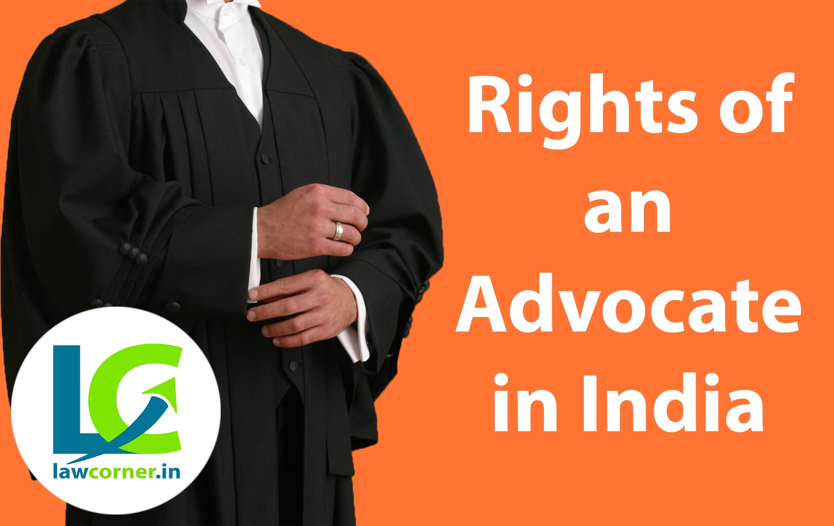 Right of an Advocate
