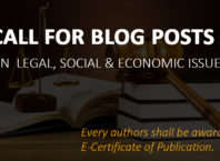 Call for Blog Posts