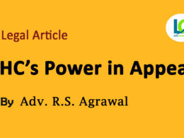 High court's power in appeal