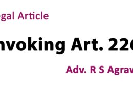 invoking article 226