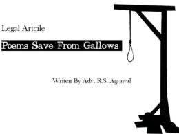 Poems Save From Gallows