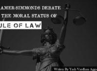 Kramer-Simmonds Debate On Rule of law