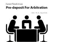 Pre-deposit For Arbitration