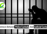Police custody and judicial custody