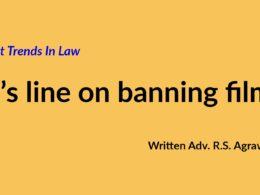 SC's line on banning film
