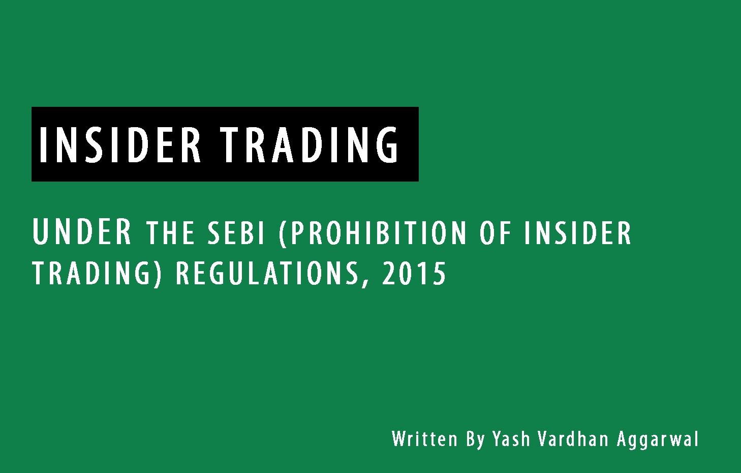 Insider trading regulations 2015 presentation skills